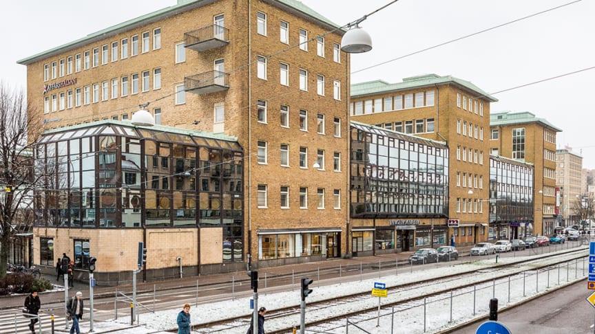 Colliers rådgivare vid uthyrning i Linnéstaden, Göteborg