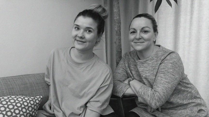 Nya på Eminent reklambyrå AB är Camilla Nilsson, byråansvarig (höger) och Johanna Carleson, digital marknadskoordinator (vänster).