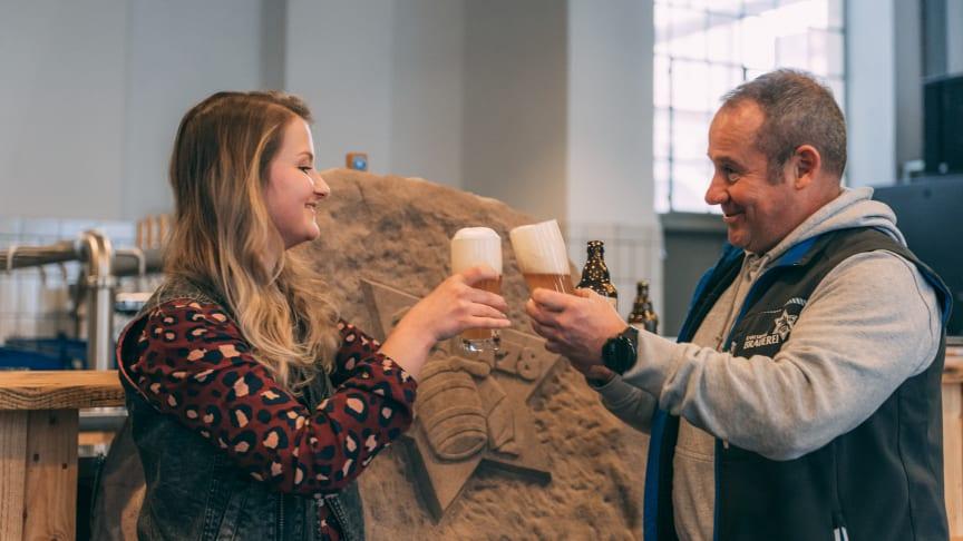 Nicht nur unseren Brauern schmeckt's: Karlsberg Helles Weizenbock ist der Braunacht-Sieger 2020. Foto: Karlsberg
