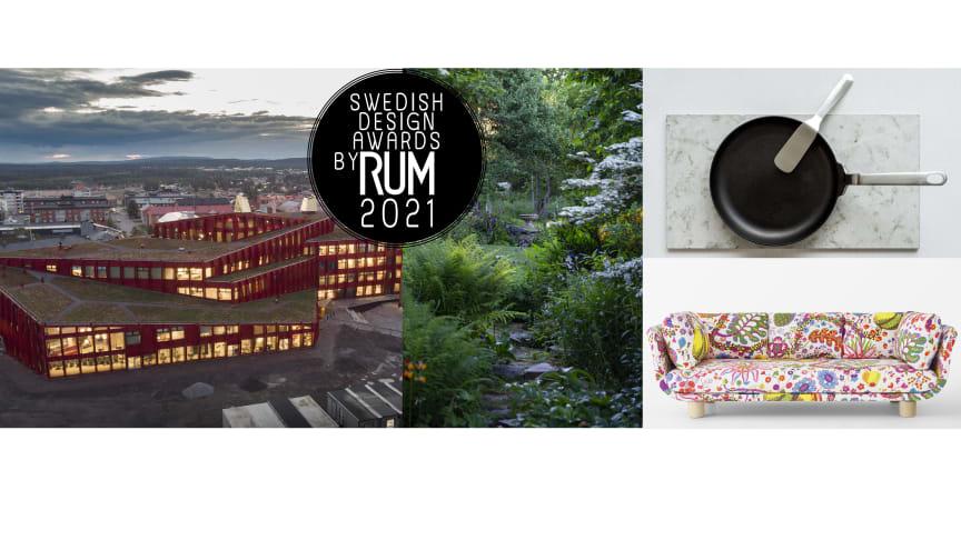 Vinnarna av Swedish Design Awards by RUM 2021