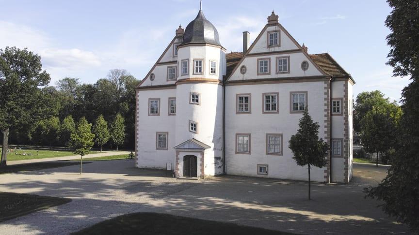 """Auf Schloss Königs Wusterhausen im Dahme-Seenland erfährt man Spannendes über die Jagdgewohnheiten des """"Soldatenkönigs"""".  Foto: TMB-Fotoarchiv/Hans Bach/SPSG."""