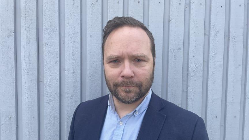 Johan Bergholm är OBOS Sveriges nya Regionchef i Stockholm.