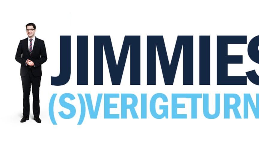 Jimmies (S)verigeturné inleds med besök i Eskilstuna
