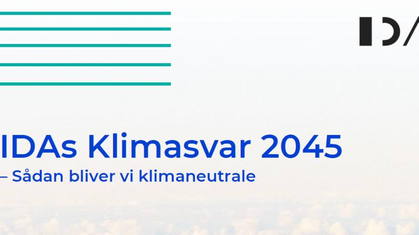 IDA viser vejen til dansk klimaneutralitet