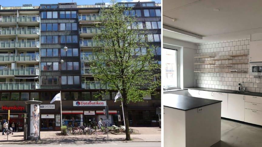 Linnégatan 36 A, Linnéstaden i Göteborg.