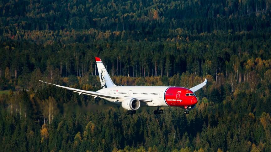 Boeing 787 Dreamliner. Foto: Jørgen Syversen.