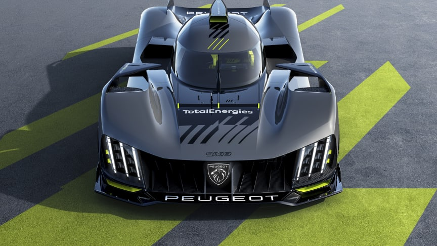 Peugeots nye Hypercar: 9X8 - parat til race!