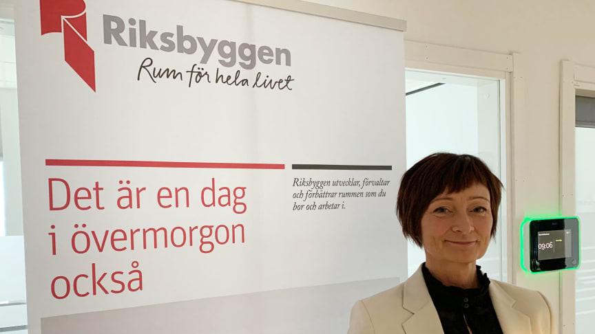 Riksbyggens fastighetsförvaltning satsar i norra Sverige