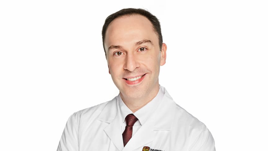 Dr. Aaron Goodarzi, the Canada Research Chair for Radiation Exposure Disease.