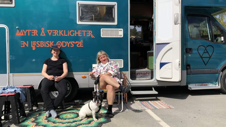 På bild: Elfrida Bergman och Lidia Svensson Foto: Christer Edeholt