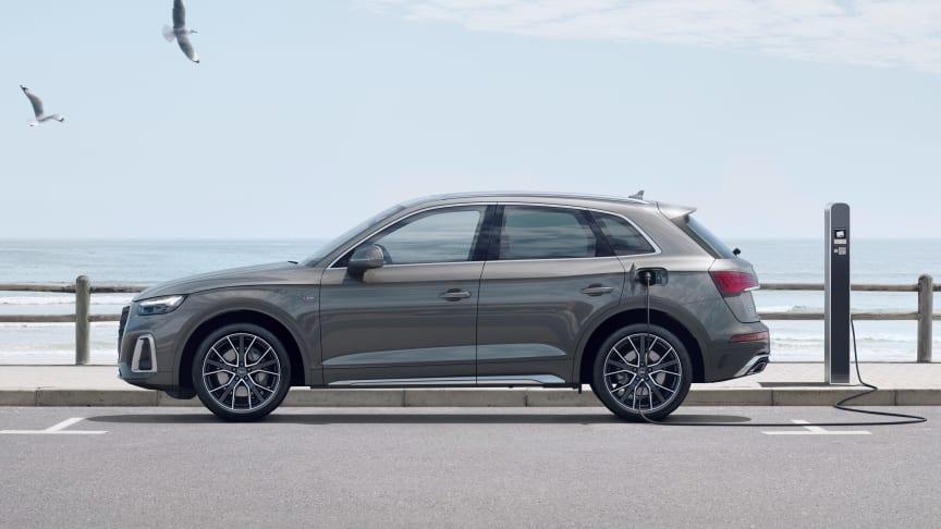 Opdateret Audi Q5 plug-in-hybrid til attraktiv pris
