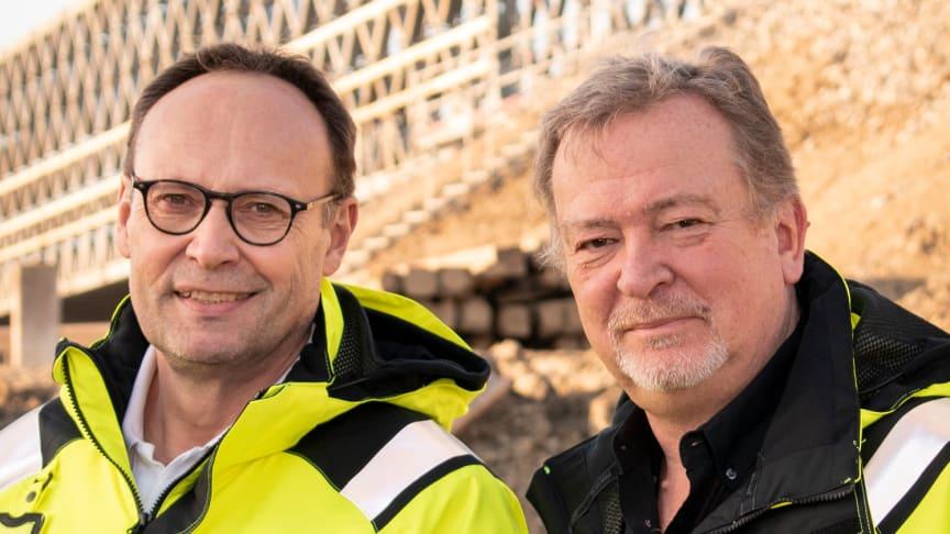 Peter Eriksson och Hans-Erik Kristensson