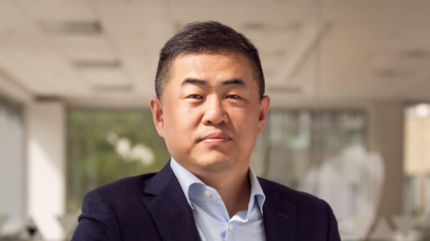 Jeffrey Qiu, CEO för Huawei Consumer Group Norden