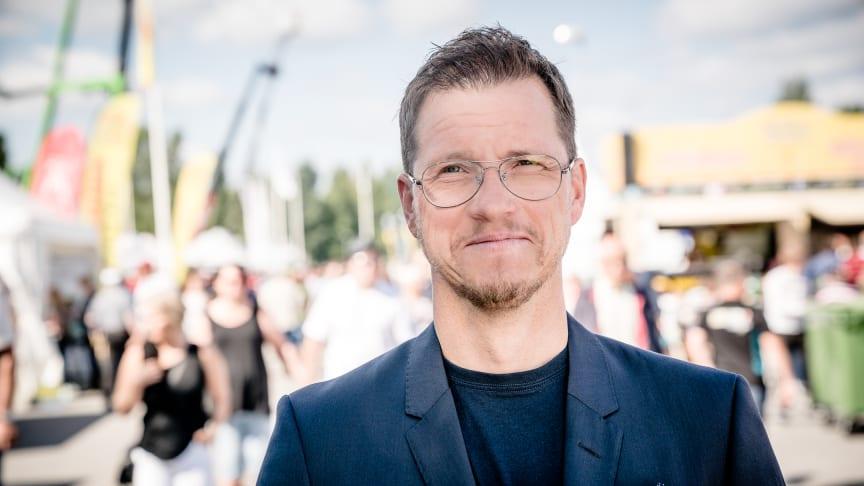 Peter Kattilasaari, projektledare för Stora Nolia.