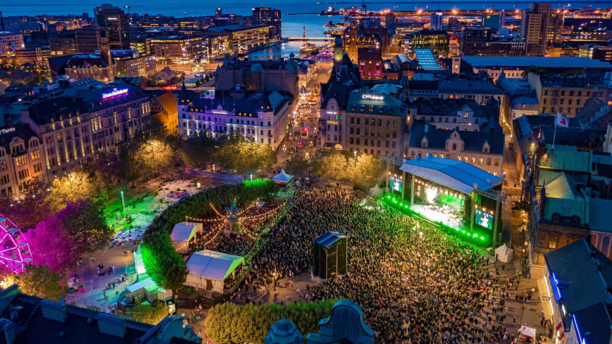Årets Malmöfestival inställd - evenemangsfyllt 2021 bjuder på både Malmöfestivalen och World Pride