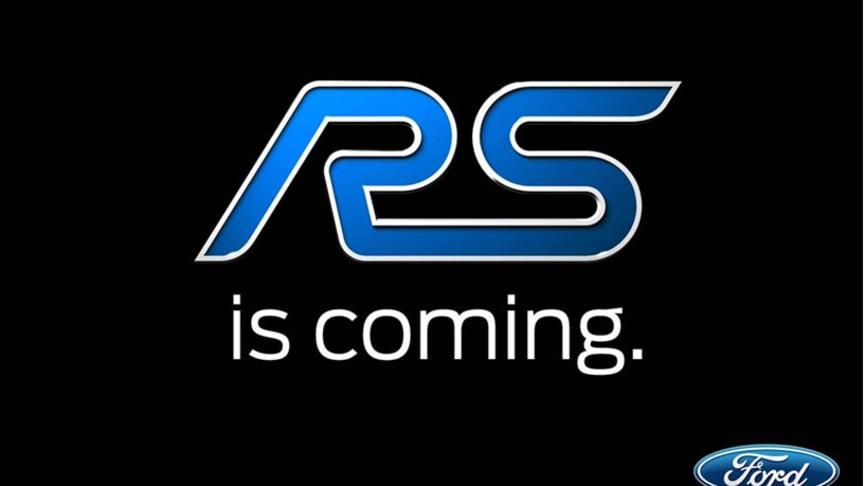 Ford bekrefter helt ny Focus RS