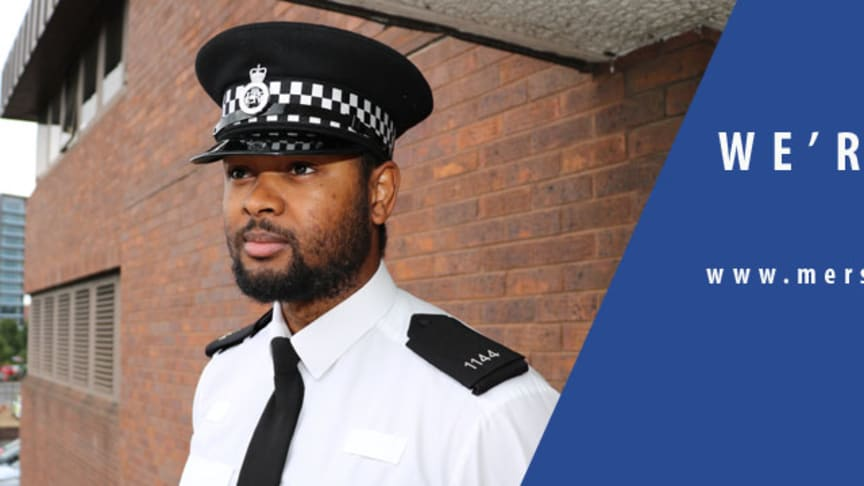 Recruitment lines are now open to become a Police Officer at Merseyside Police