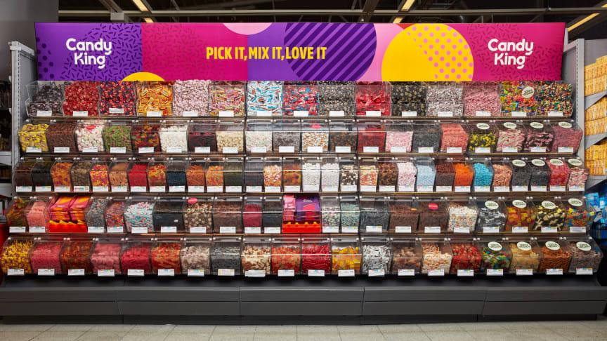 CandyKing storsatsar med nytt butikskoncept och lyfter glädjen i de små stunderna