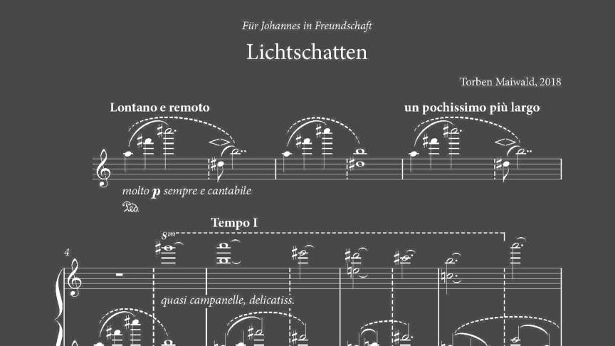 Komposition ‹Lichtschatten›von Torben Maiwald (Rechte: Johannes Greiner)