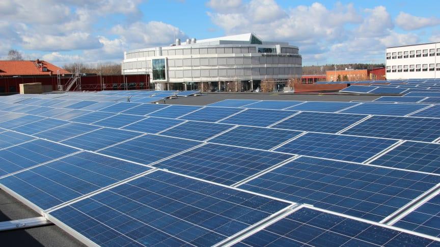 Pressinbjudan: Nu invigs Akademiska Hus största satsning på solceller