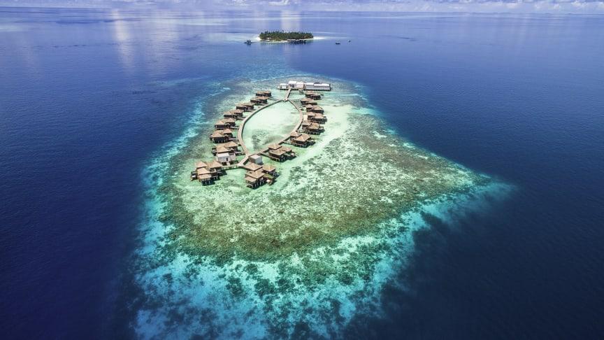 Luxuriöse Oase inmitten des Gaafu Alifu Atolls: Das Raffles Maldives Meradhoo   © Warren Baverstock