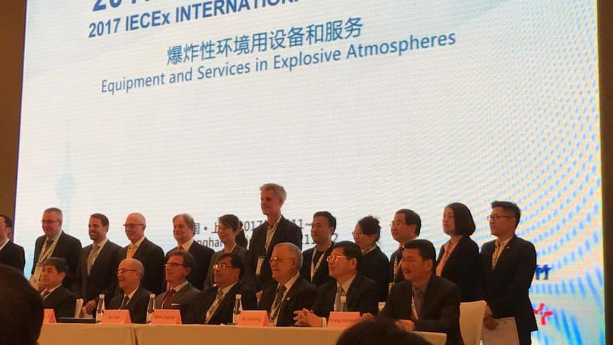 2017 IECEx International Conference, Shanghai