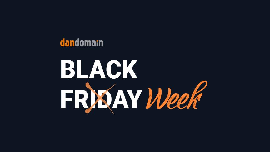 Black Friday er død. Længe leve Black Week.