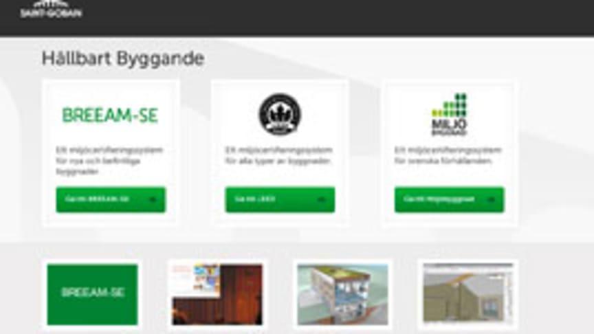 Hållbartbyggande.se uppdaterad med BREEAM-SE