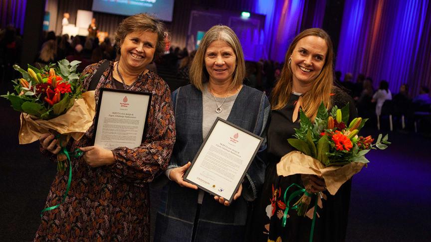 Vinnarna av Nyttigaste affären 2019. Foto: Björn Granat