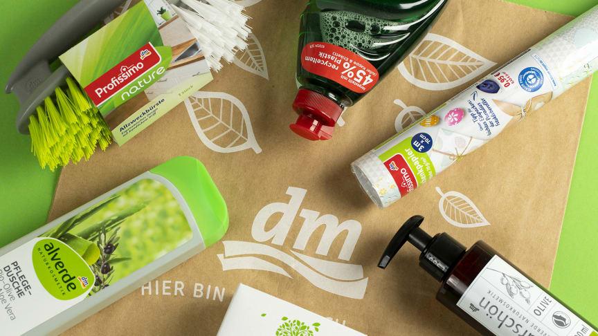 Bei immer mehr Produktverpackungen kommen Recycling-Materialien zum Einsatz