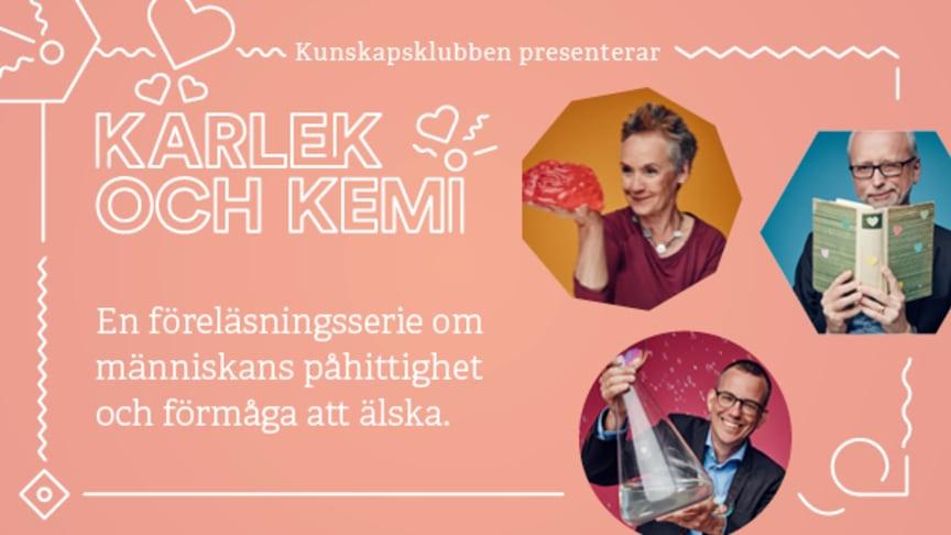Välkomna till Kärlek och Kemi på Dunkers kulturhus!