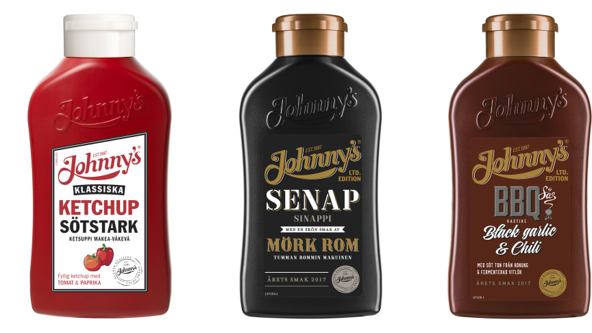 Oväntade smaker från Johnny's®!