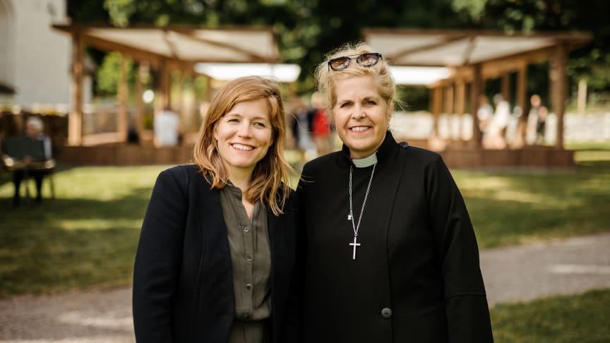 Sofia Kanje och Carin Åblad Lundström