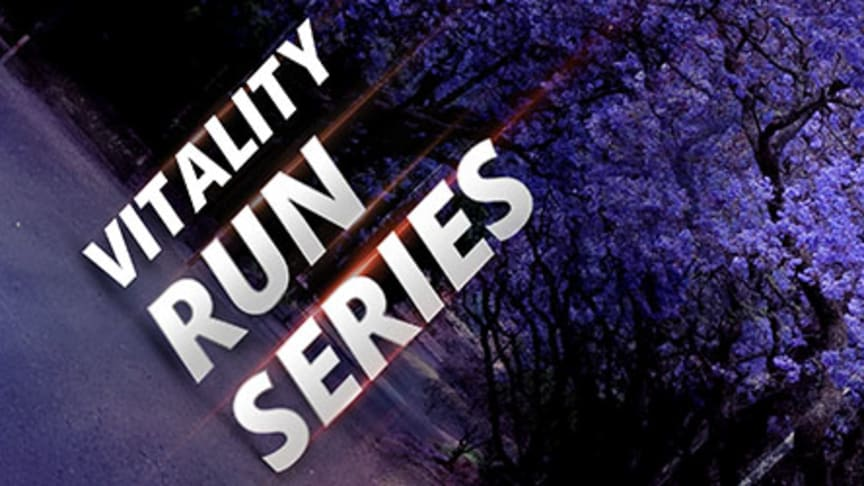 The Vitality Run Series hits the streets of Pretoria in October