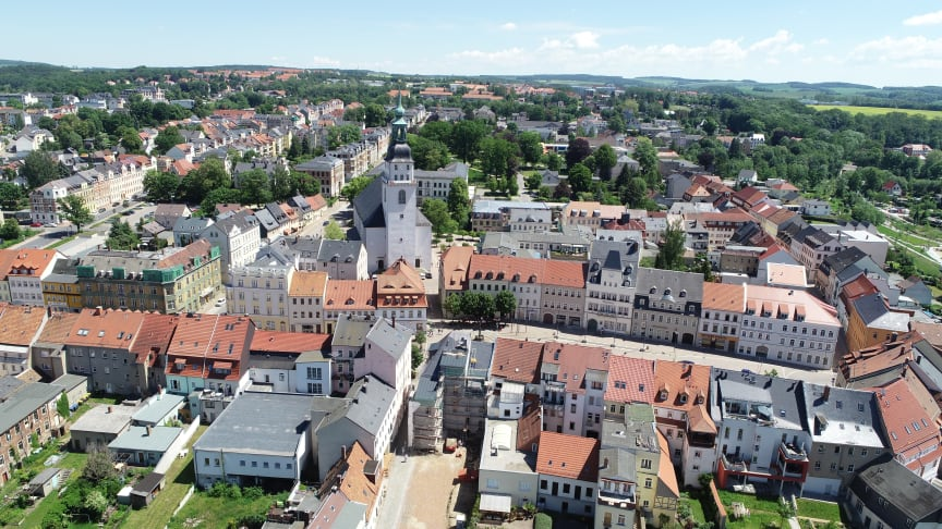 Stadt Frankenberg (Quelle: Landesgartenschau Frankenberg/Sa. gGmbH)