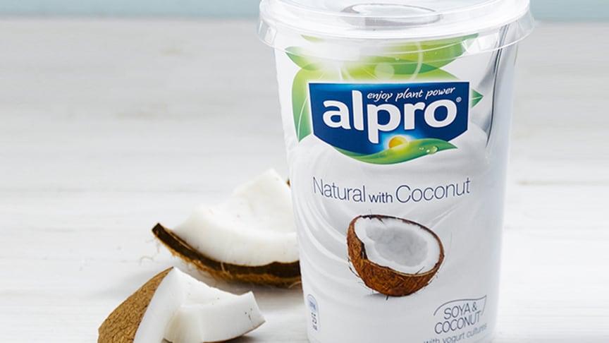 Alpro lanserer markedets første plantebaserte yoghurt med kokos