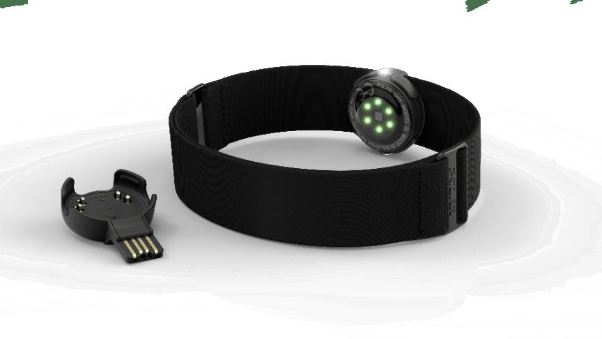 Polar OH1 - optinen sykesensori ja käsivarteen kiinnitettävä hihna
