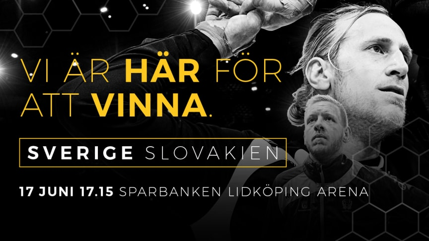 I dag släpps biljetterna till EM-kvalmatchen i Sparbanken Lidköping Arena