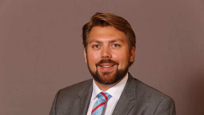 Johan Eriksson till Willis Towers Watsons Cyber-team