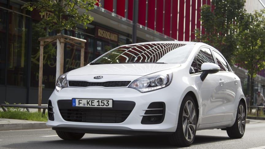 KIA Rio (MY 2015) rangerer højest blandt de små biler i 2018 J.D. Power Vehicle Dependability Study