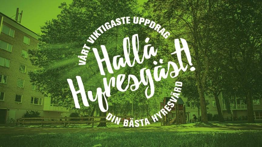 Under september genomförde fastighetsbolaget Växjöbostäder sin årliga hyresgästundersökning.