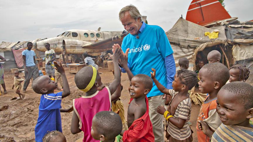 Konsensjef Bjørn Kjos i Den sentralafrikanske republikk i 2014.
