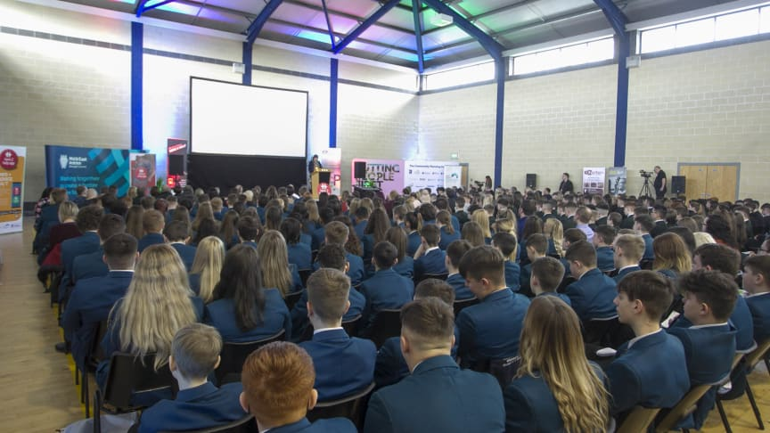 The #Here2Help roadshow was held in Ballymena North.
