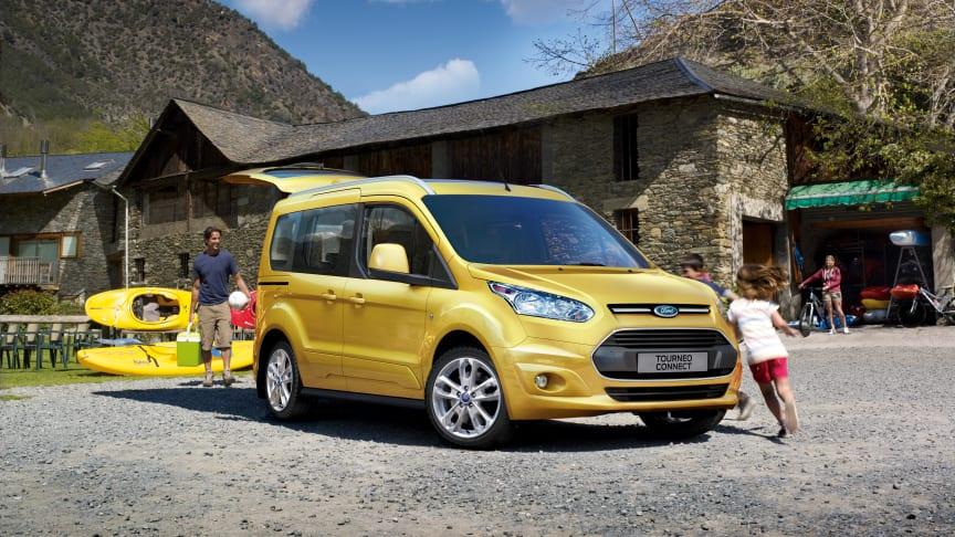 Ford med ny 5- og 7-seters Tourneo Connect