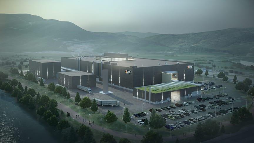 Norsk Kylling AS fabrikk i Orkanger som skal ferdigstilles i 2021
