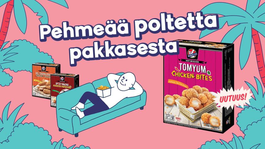 Supersuosion saavuttanut Kitchen Joy lanseeraa uudet Tom Yum Chicken Bitesit