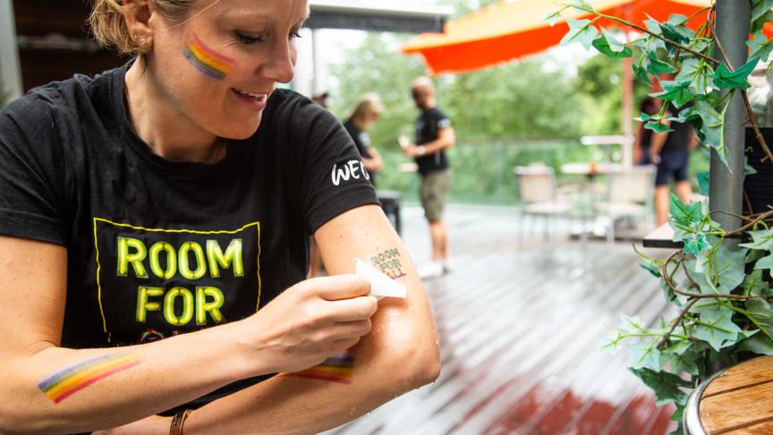 Pride House på Clarion Hotel Stockholm