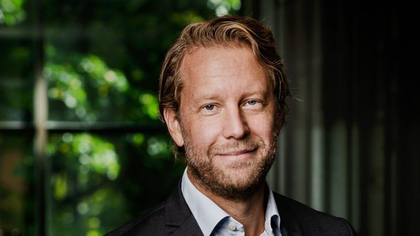 Henrik Olausson, vd SkandiaMäklarna
