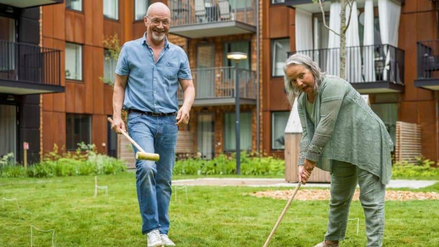 Riksbyggen deltar i ny studie om 55-plussares behov för ett hälsosamt åldrande i bostaden