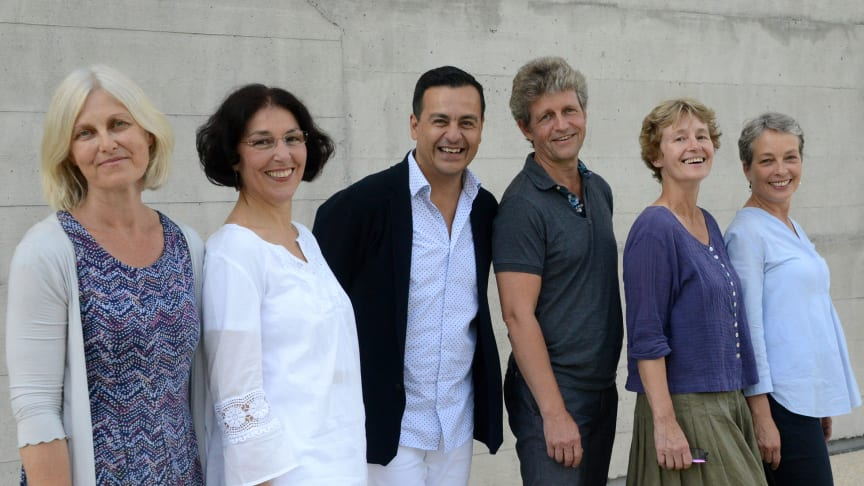 Leitungsteam des Goetheanum-Eurythmie-Ensembles (v.l.n.r.): Silke Sponheuer, Gioia Falk, Eduardo Torres, Stefan Hasler, Maren Stott und Tanja Masukowitz